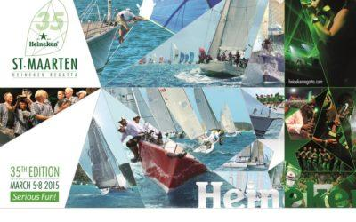 New image and website for the 35th St.Maarten Heineken Regatta.