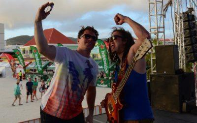 Jackson Wetherbee & The CornerStone back for another St. Maarten Heineken Regatta performance