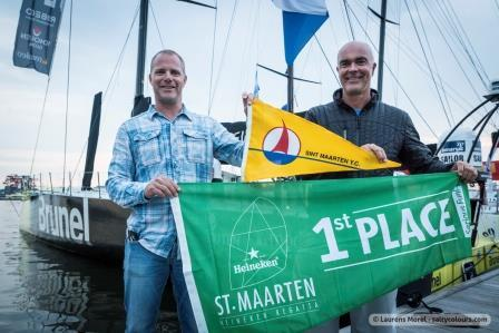VO 65 Team Brunel to race during the 2016 St. Maarten Heineken Regatta