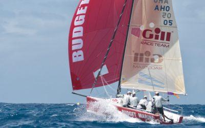 Gill Commodore's Cup; A Feisty Start in St.Maarten