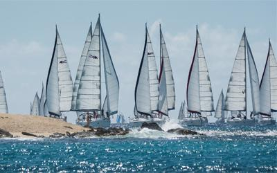 Boats available to race for the 37th St. Maarten Heineken Regatta