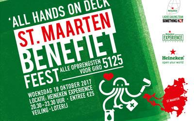 Join the Heineken Ladies Sailing Team 'Something Hot' to raise money for St. Maarten
