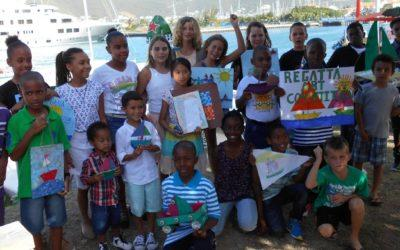Young artists awarded at the 17th Regatta Art Competition Prize-Giving Ceremony