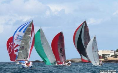 Record fleet for Gill Commodore's Cup