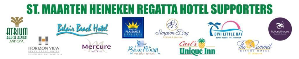 Hotels support the 2015 St. Maarten Heineken Regatta