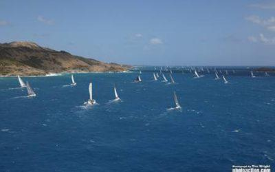 The 35th St. Maarten Heineken Regatta has taken off