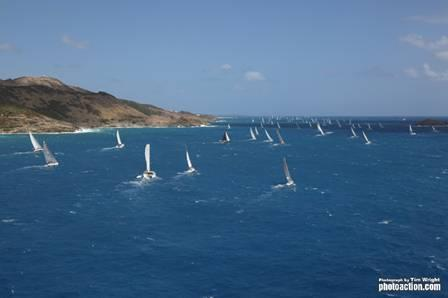 The 35th St. Maarten Heineken Regatta has taken off