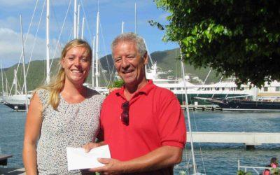 St. Maarten Yacht Club Regatta Foundation raises 1804 dollars for Sea Rescue