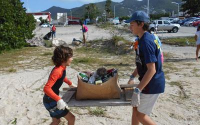 Over 100 participants in 5th Annual Regatta Beach Clean-up