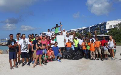 The St. Maarten Regatta Beach Clean-Up is this Saturday, January 14th, 2017.