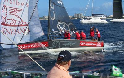 Feel like a VIP on the official St. Maarten Heineken Regatta spectator boat!