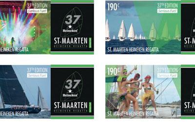 Postal Services St. Maarten issues 1st Personalized St. Maarten Heineken Regatta Stamp