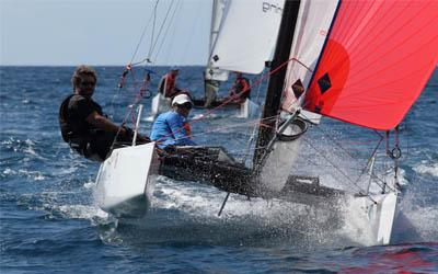 The 2018 St. Maarten Heineken Regatta is offering customized packages for Beach Cat competitors