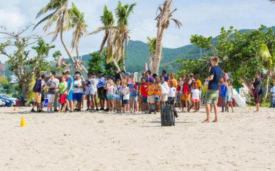 Over 100 participants in the 6th St. Maarten Regatta Beach Clean-Up