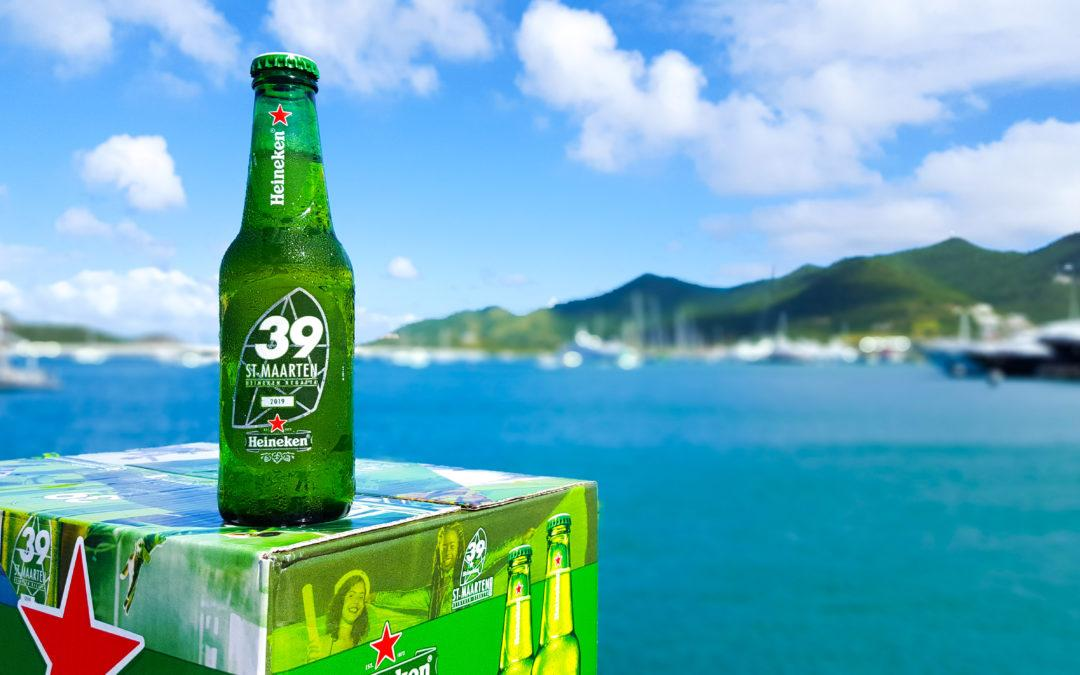 Heineken Launches New Bottle for the 39th St. Maarten Heineken Regatta